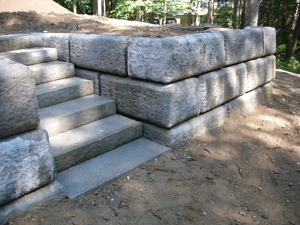 concrete stairs Burnaby